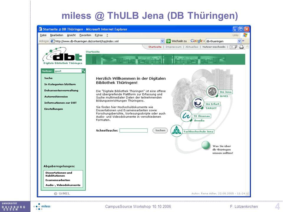 miless @ ThULB Jena (DB Thüringen)