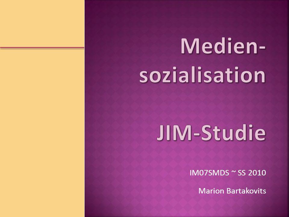 Medien-sozialisation JIM-Studie