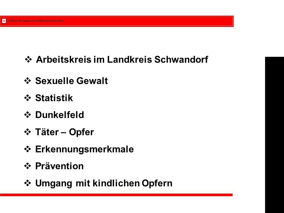 Beschreibung des AK - Sexueller Missbrauch