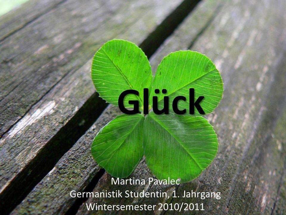 Germanistik Studentin, 1. Jahrgang