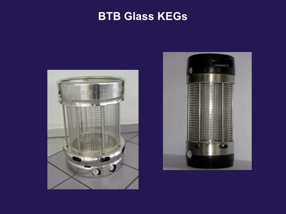BTB Glass KEGs