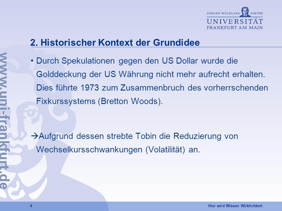 2. Historischer Kontext der Grundidee