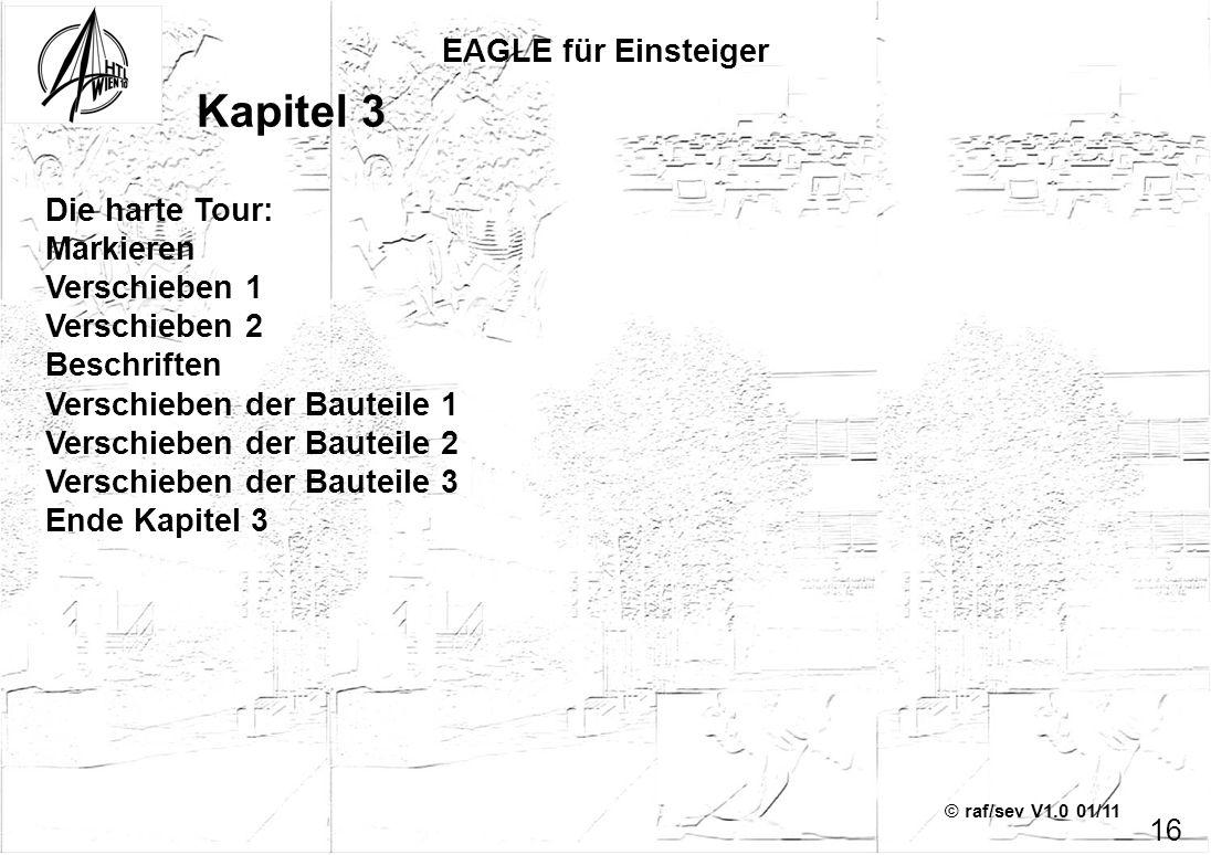 Kapitel 3 EAGLE für Einsteiger