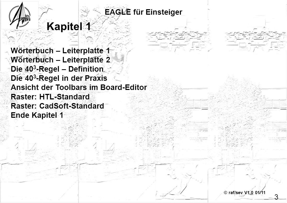 Kapitel 1 EAGLE für Einsteiger