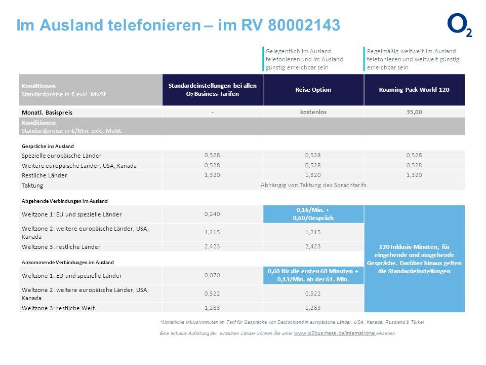Im Ausland telefonieren – im RV 80002143