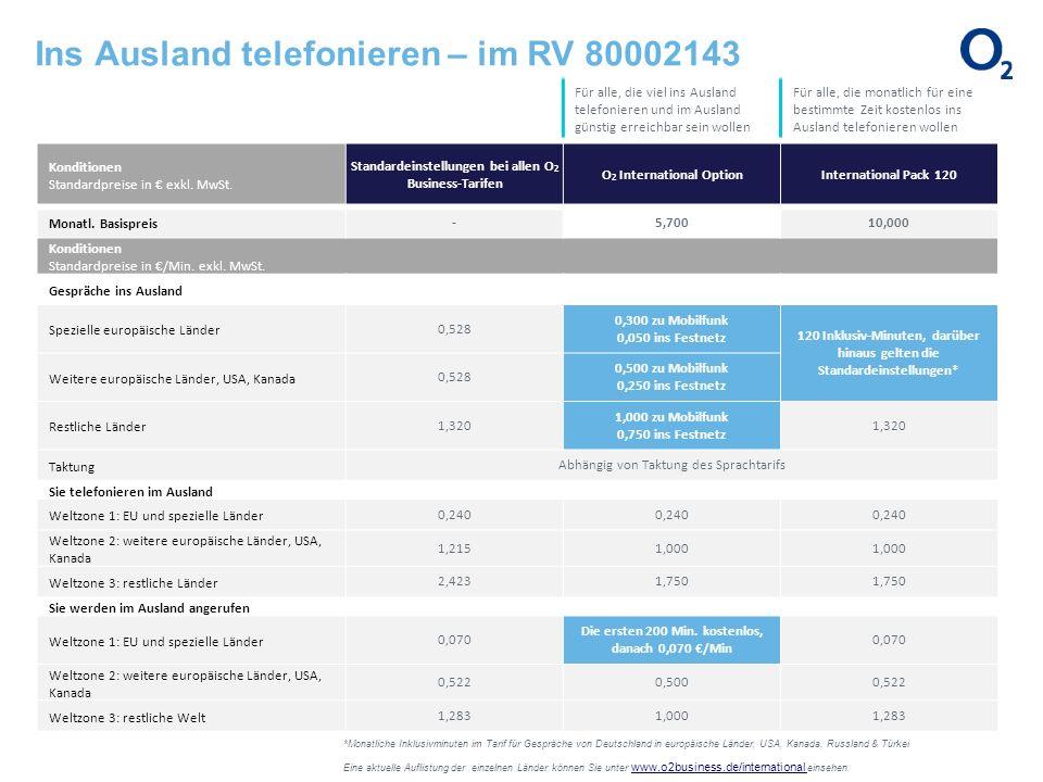 Ins Ausland telefonieren – im RV 80002143