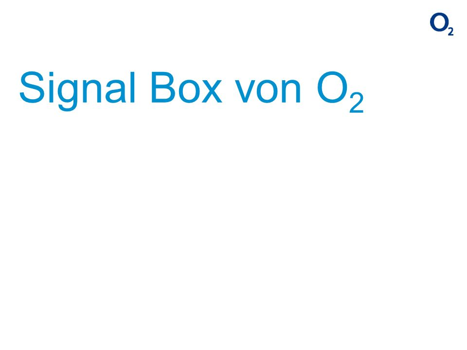 Signal Box von O2