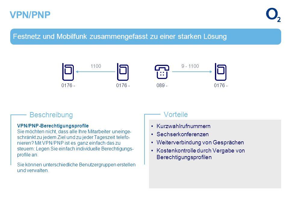 VPN/PNP Festnetz und Mobilfunk zusammengefasst zu einer starken Lösung