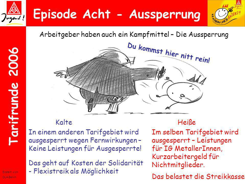 Episode Acht - Aussperrung