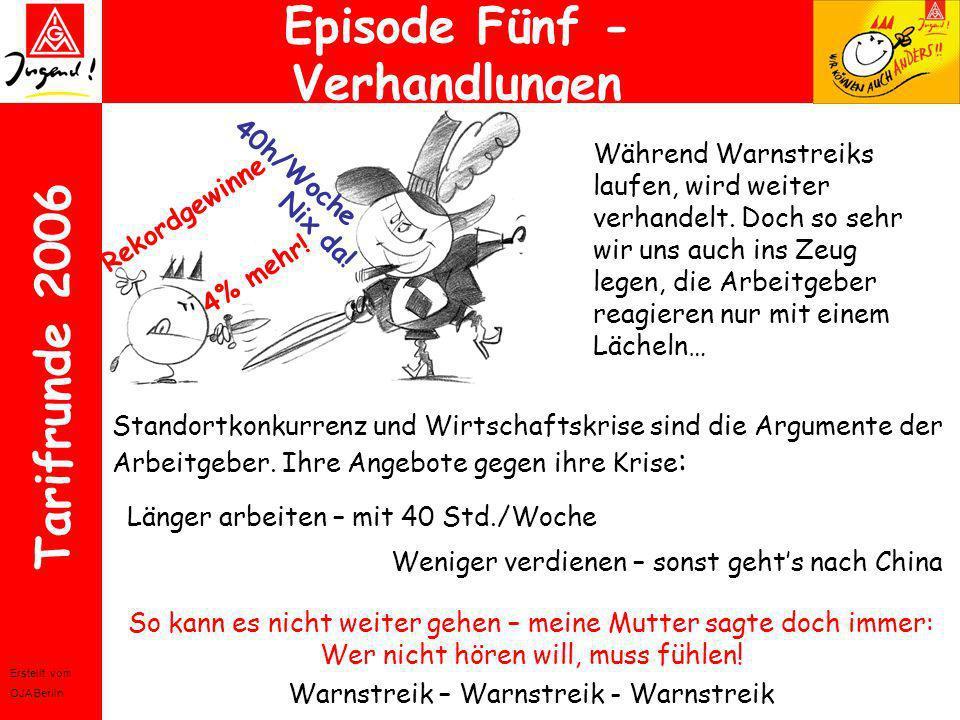 Episode Fünf - Verhandlungen