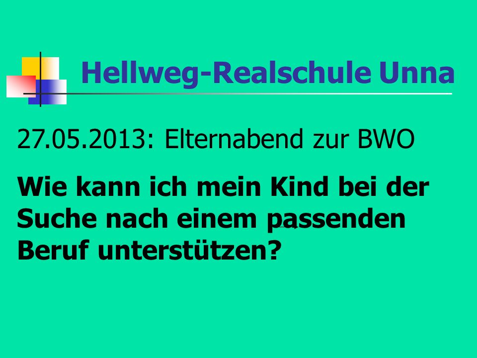 Hellweg-Realschule Unna