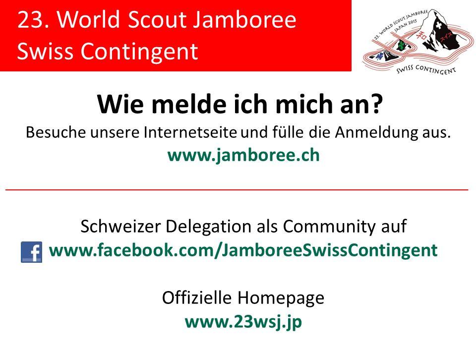 Schweizer Delegation als Community auf