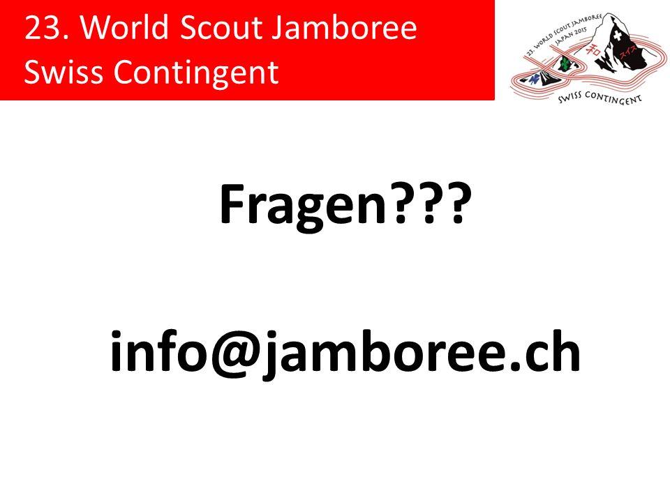 Fragen info@jamboree.ch