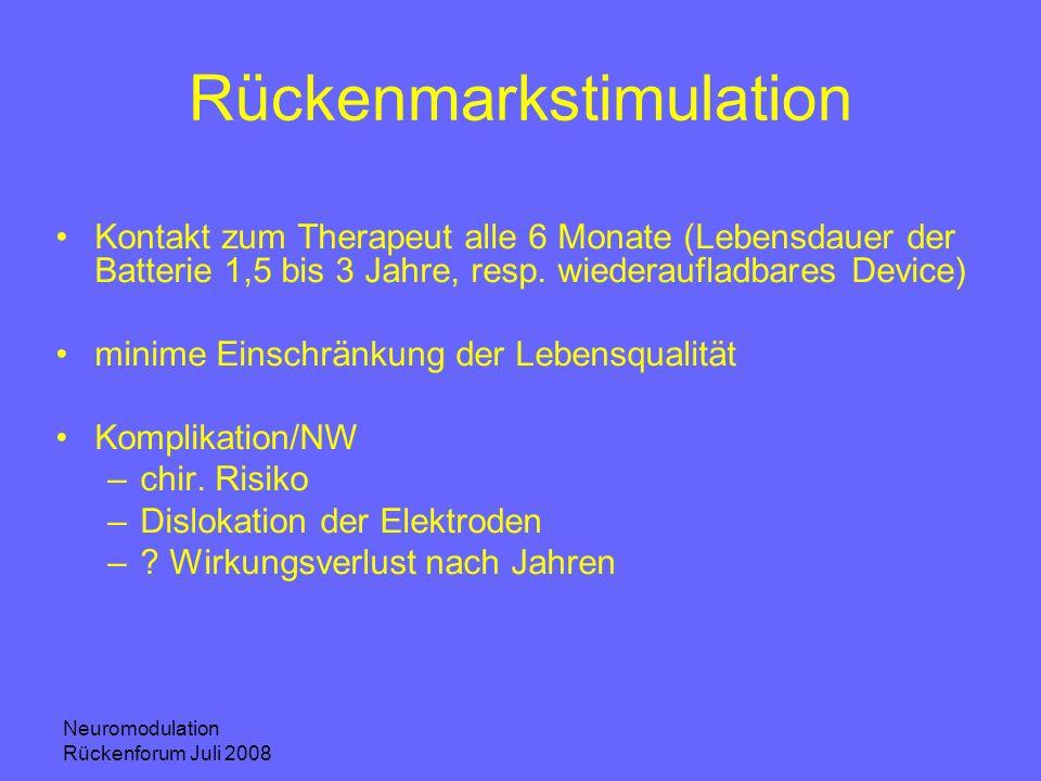 Rückenmarkstimulation