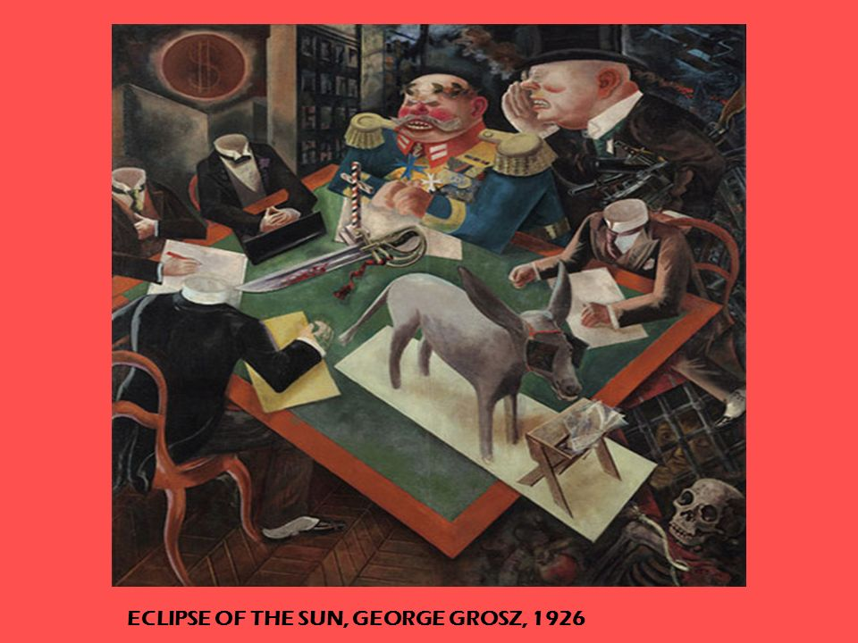 ECLIPSE OF THE SUN, GEORGE GROSZ, 1926