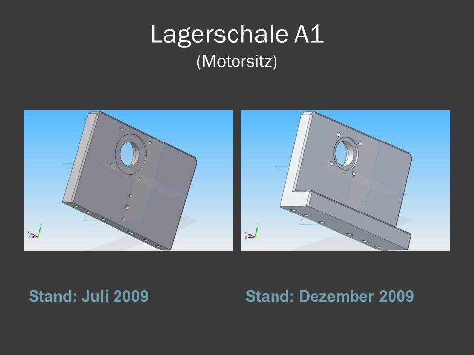 Lagerschale A1 (Motorsitz)