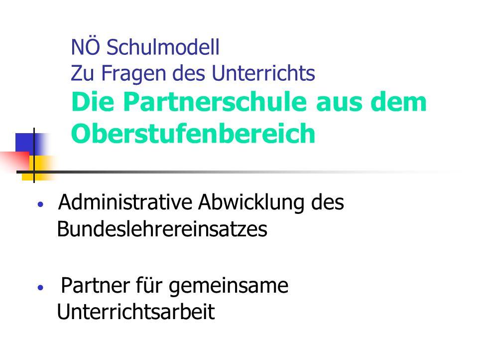 Administrative Abwicklung des Partner für gemeinsame