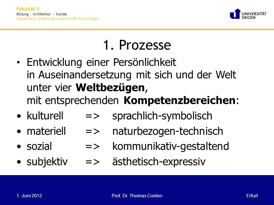 1. Prozesse