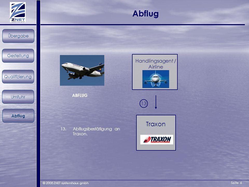 Handlingsagent / Airline