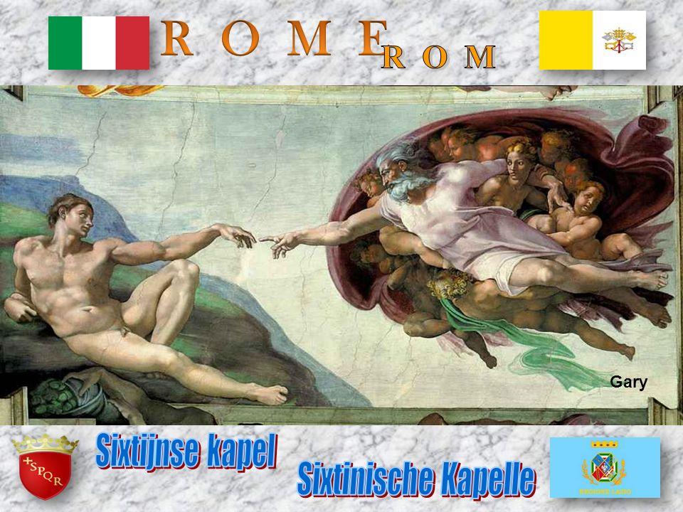 R O M E R O M Gary Sixtijnse kapel Sixtinische Kapelle