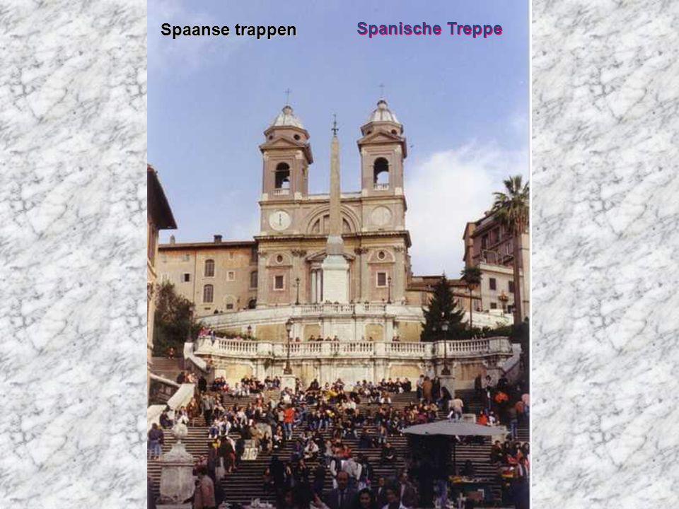 Spaanse trappen Spanische Treppe