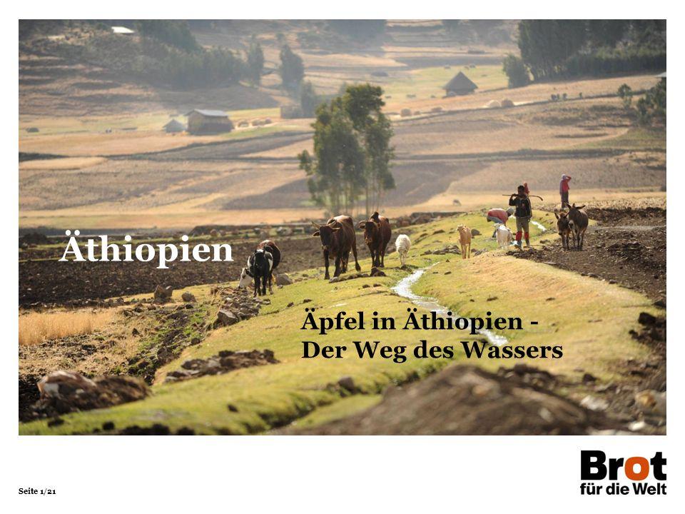 Äthiopien Äpfel in Äthiopien - Der Weg des Wassers