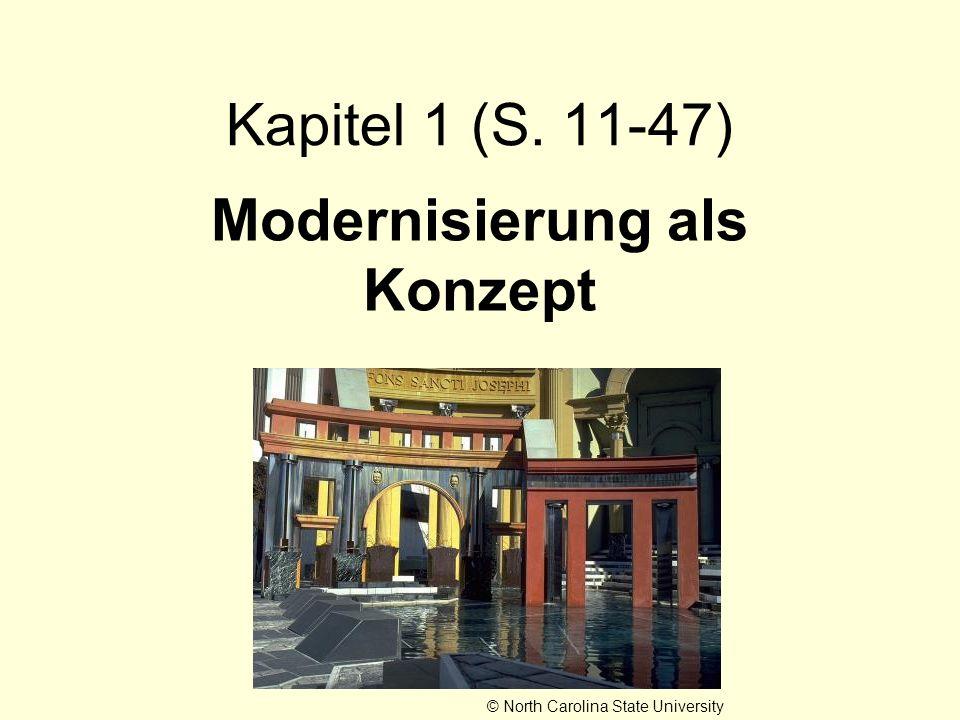 Modernisierung als Konzept