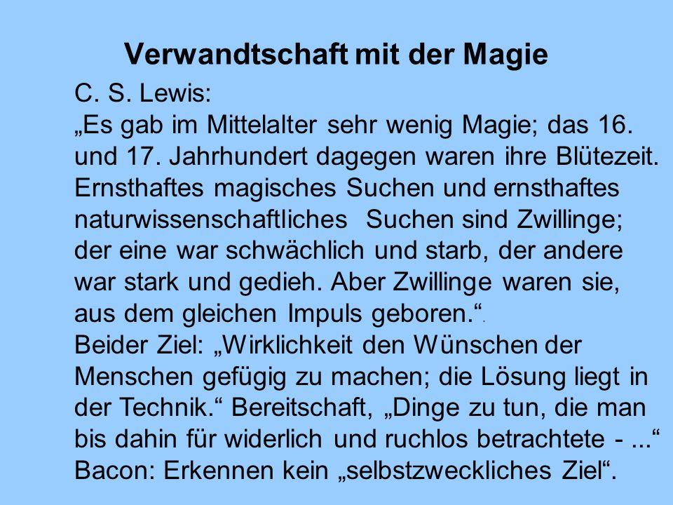 Verwandtschaft mit der Magie