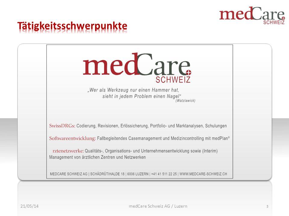 medCare Schweiz AG / Luzern