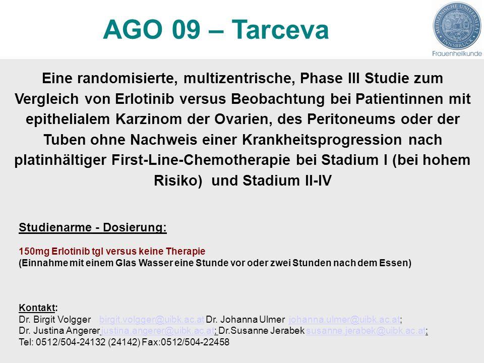 AGO 09 – Tarceva