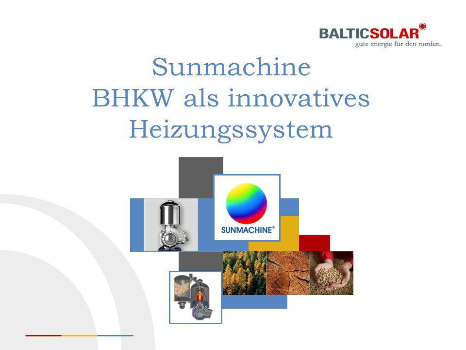 Sunmachine BHKW als innovatives Heizungssystem