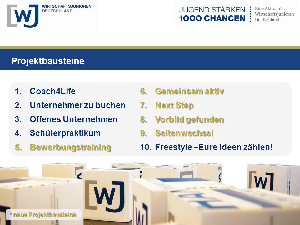 Projektbausteine Gemeinsam aktiv Coach4Life Next Step