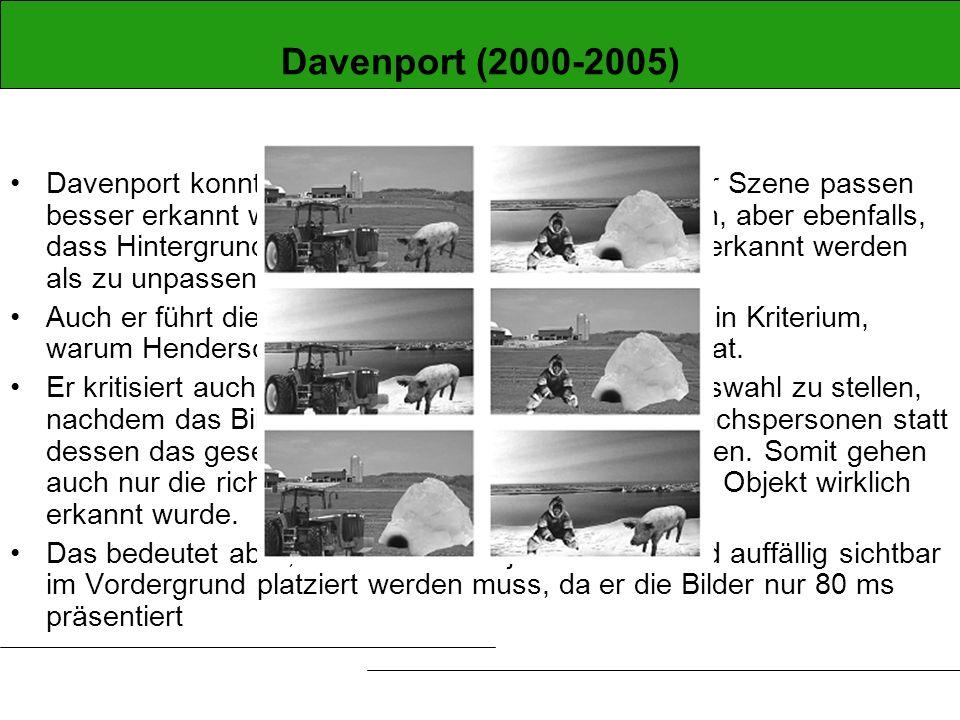 Davenport (2000-2005)