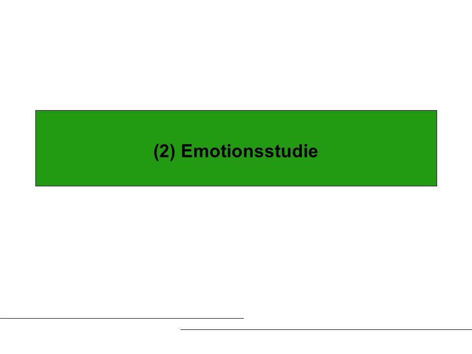(2) Emotionsstudie