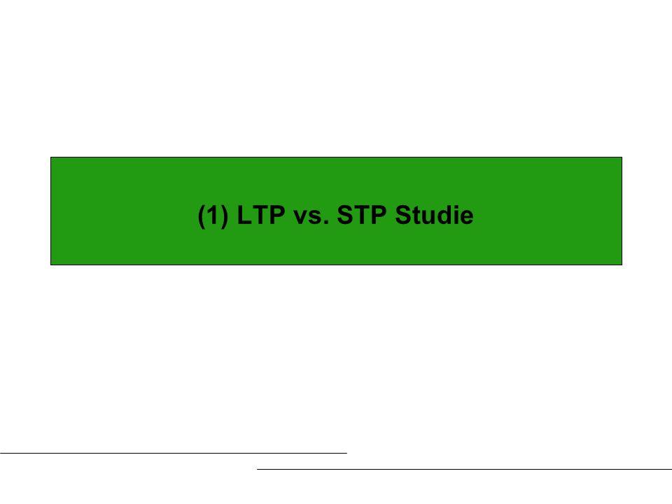 (1) LTP vs. STP Studie