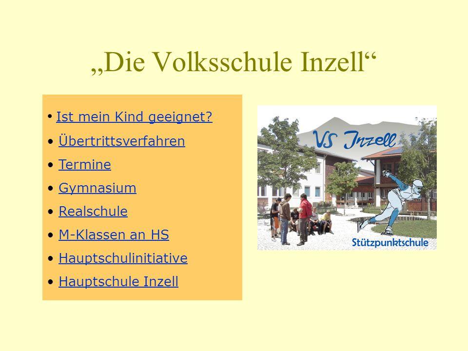 """""""Die Volksschule Inzell"""
