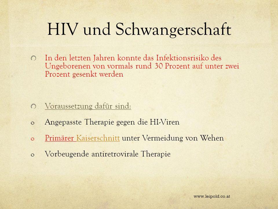 HIV und Schwangerschaft