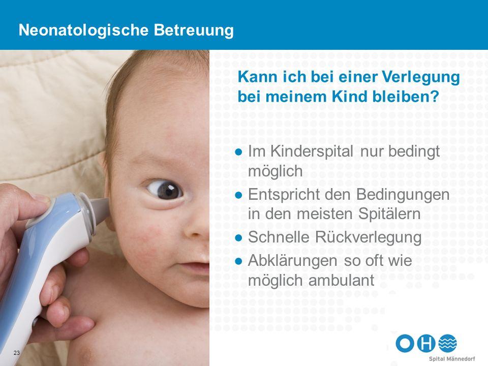 Neonatologische Betreuung