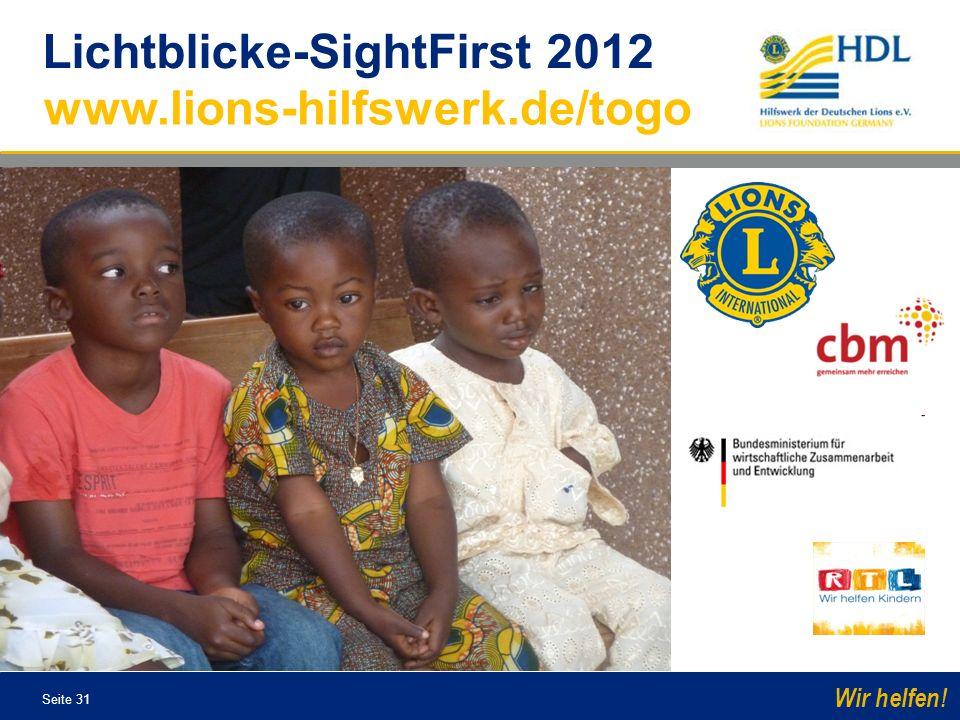 Lichtblicke-SightFirst 2012