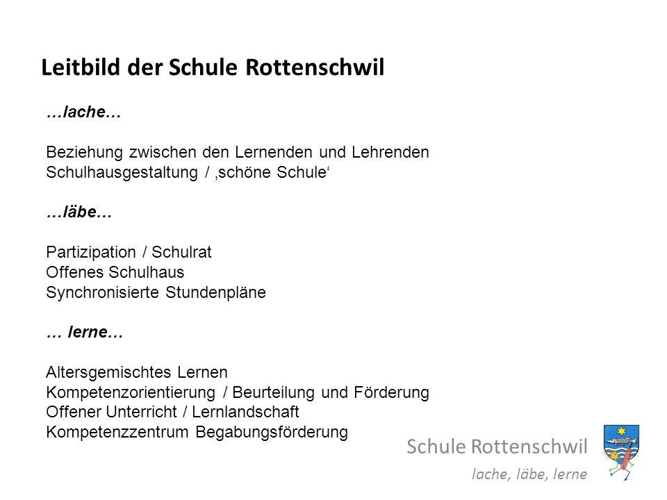 Leitbild der Schule Rottenschwil