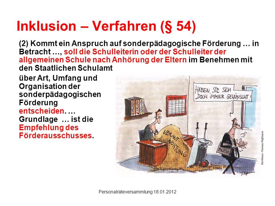 Inklusion – Verfahren (§ 54)