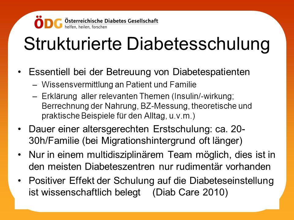 Strukturierte Diabetesschulung