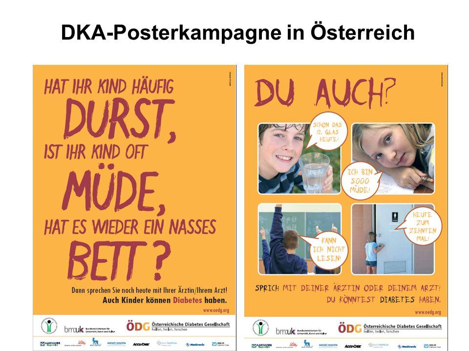 DKA-Posterkampagne in Österreich