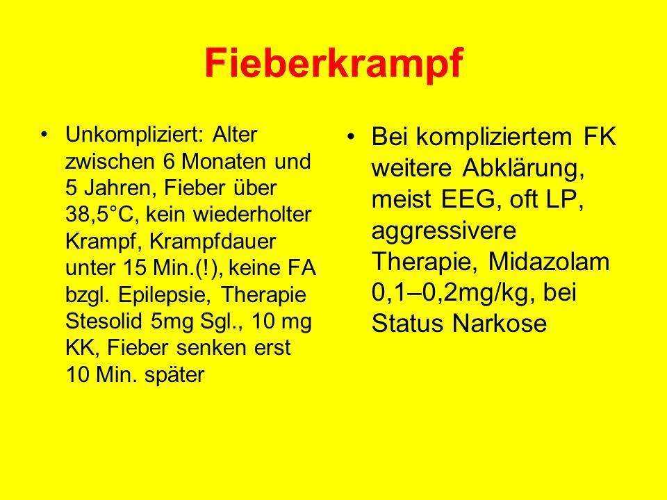 Fieberkrampf