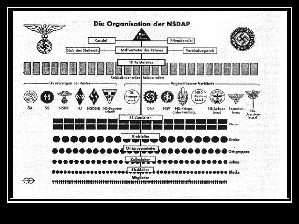 Der Aufbau der NSDAP