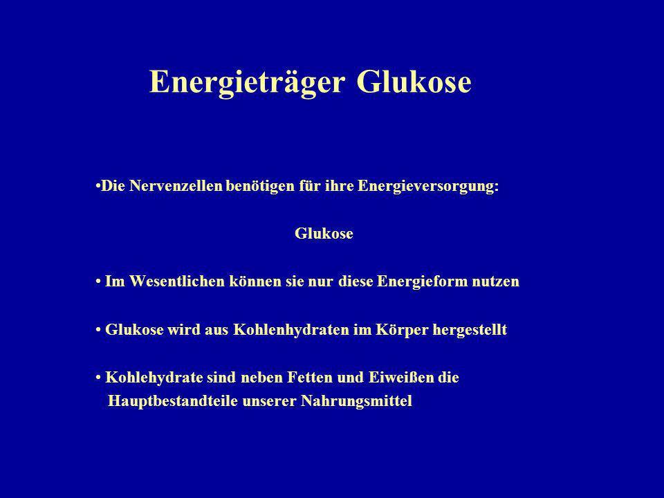 Energieträger Glukose