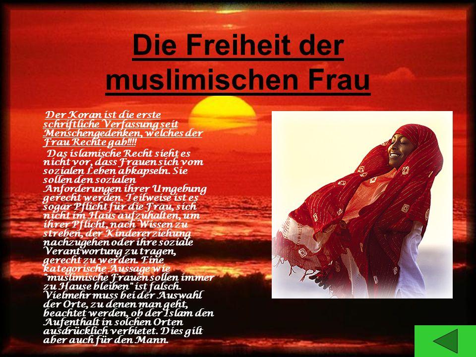 Die Freiheit der muslimischen Frau