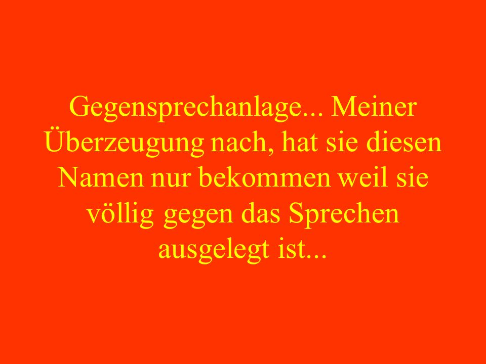 Gegensprechanlage...