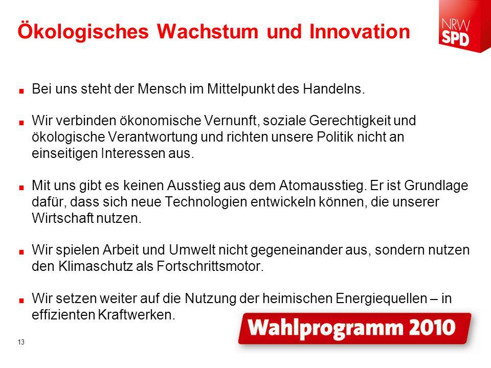 Ökologisches Wachstum und Innovation