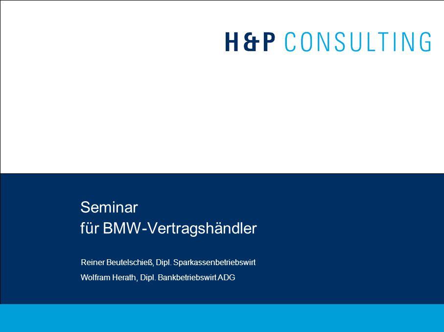 Seminar für BMW-Vertragshändler